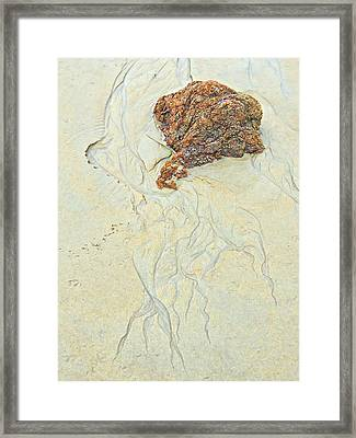 Beach Sand  2 Framed Print