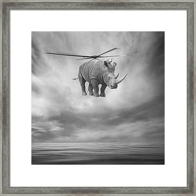 ... Framed Print by Beata Bieniak
