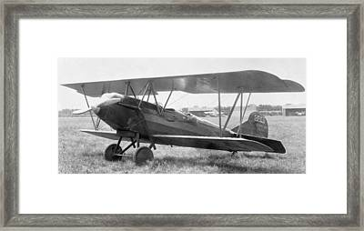 Beech Travelaire With Ox-5 Engine Framed Print by Hank Clark