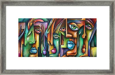 ' Believers ' Framed Print by Michael Lang