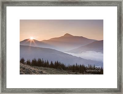Ben Lomond Sunrise Framed Print