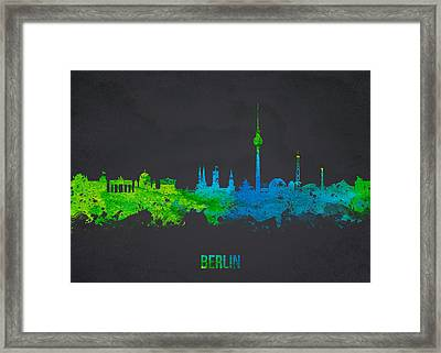 Berlin Germany Framed Print by Aged Pixel