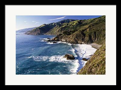 Pacific Ocean Framed Prints