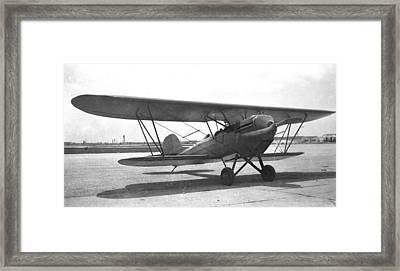 Bird A With Ox-5 Engine Framed Print by Hank Clark