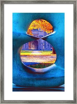 Blair Hall Gate  Framed Print by George Oze