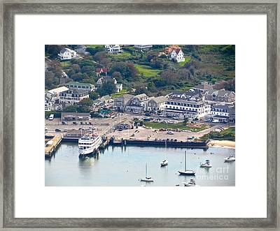 Block Island Framed Print by Beth Saffer