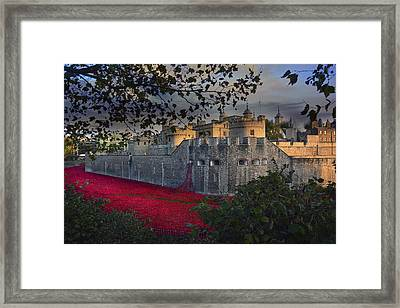 Blood Swept Lands And Seas Of Red. Framed Print