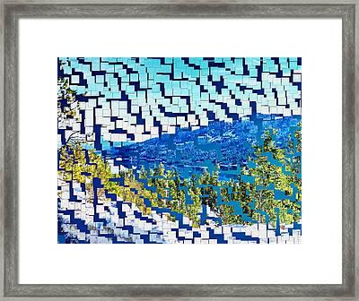 Breaking Away To Donner Lake Framed Print