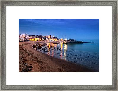 Broadstairs At Twilight.  Framed Print by Ian Hufton