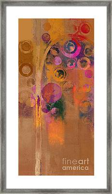 Bubble Tree - Lw91 Framed Print by Variance Collections