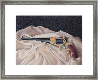 Buffalo Blackpowder Revolver  Framed Print