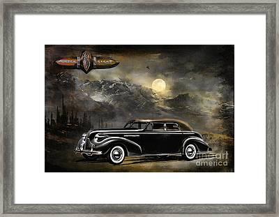 Buick 1939 Framed Print by Andrzej Szczerski