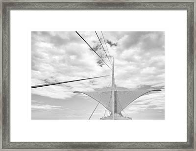 Burke Brise Solei Framed Print