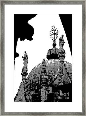 Byzantine Dome Framed Print by Jacqueline M Lewis