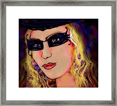 Casablanca Girl Framed Print by Natalie Holland