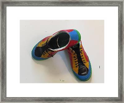 Chaussure Art Framed Print