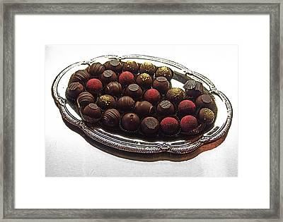 Chocolates Framed Print by David Pantuso