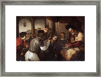 Christ Before Pilate Framed Print by Luca Giordano