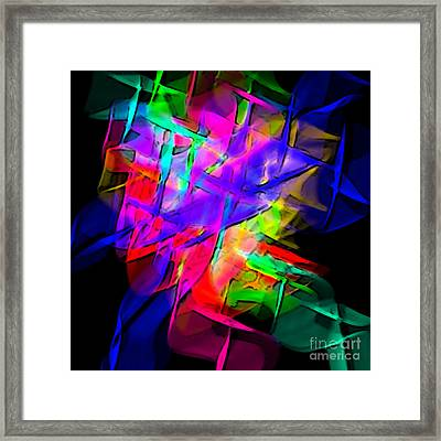 Color Screamers  Framed Print by Gayle Price Thomas
