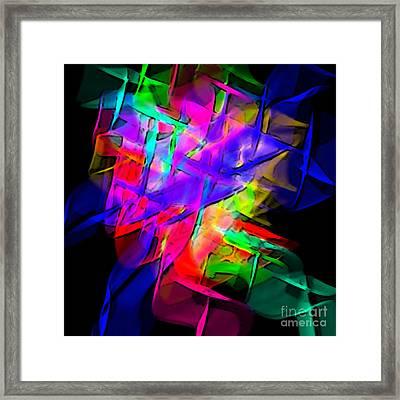 Color Screamers  Framed Print