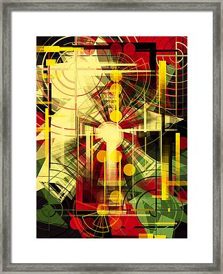 Colorful Construction 37 Framed Print