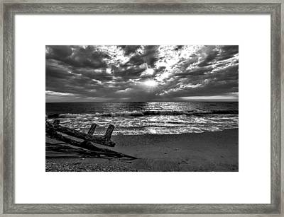 Colorless Sunset Framed Print by Bob Jackson