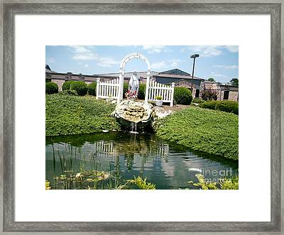 Framed Print featuring the photograph  Comfort by Desline Vitto