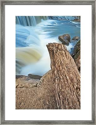Cooleemee Falls 4 Framed Print by Patrick M Lynch