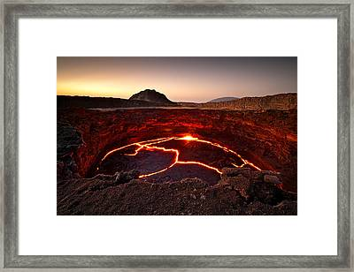 ... Crater Lake Framed Print