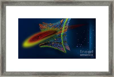 Crossing Univers Framed Print