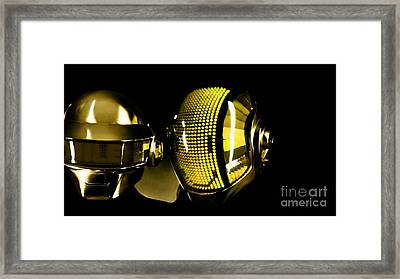 Daft Punk  Framed Print by Marvin Blaine