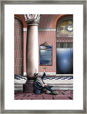 Daily Bread A1 Framed Print by Reggie Duffie