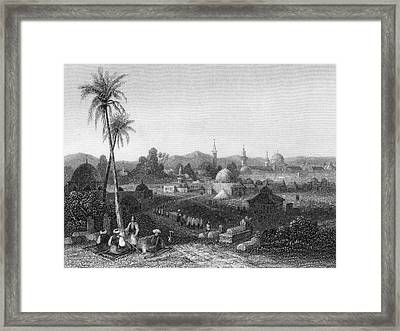 Damascus  General View        Date 1835 Framed Print by Mary Evans Picture Library