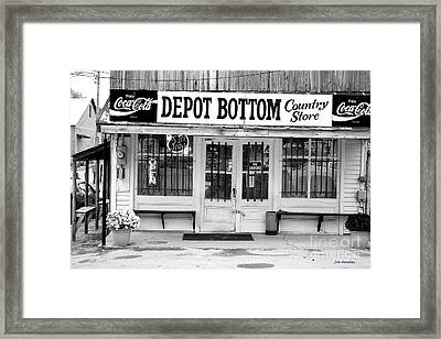 Depot Bottom Country Store Framed Print by   Joe Beasley