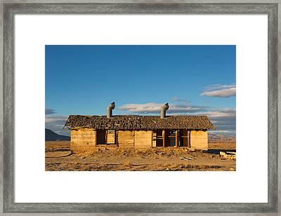 Derelict Shack. Framed Print