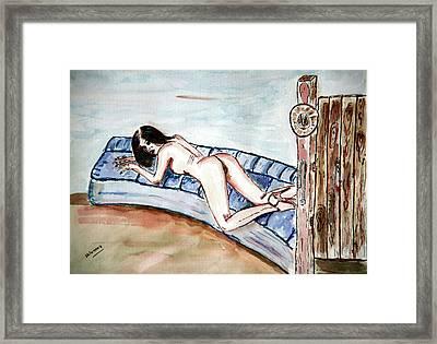 Dezeere   Passion. Framed Print by Shlomo Zangilevitch