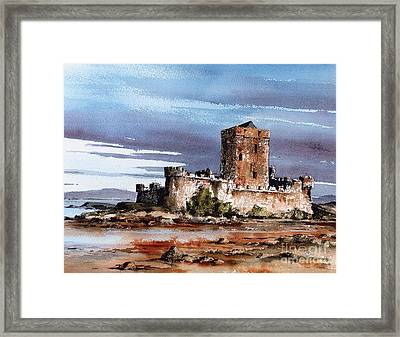 Doe Castle In Donegal Framed Print