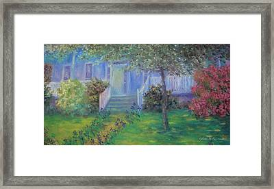 Early Glow Of Spring Framed Print