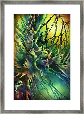 ' Earth' Framed Print by Michael Lang