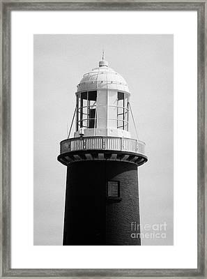 East Light Lighthouse Altacarry Altacorry Head Rathlin Island  Northern Ireland Framed Print by Joe Fox