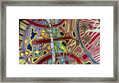 Edge Of The Universe Framed Print by Jonathon Hansen