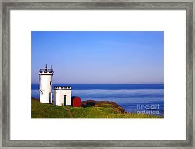 Elie Lighthouse Framed Print