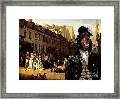 English Cocker Spaniel Art Canvas Print Framed Print by Sandra Sij
