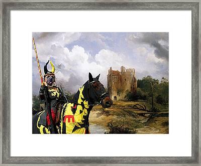 English Mastiff  - Mastiff Art Canvas Print - The Ruins Home Framed Print