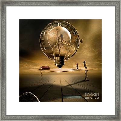 Even In The Quietest Moment II Framed Print
