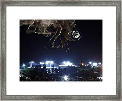 Fans From Space Framed Print