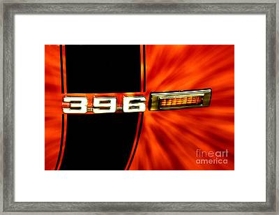 Fast And Loud Framed Print
