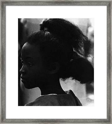 Film Homage Oscar Micheaux And Paul Robeson O'odham Tash Casa Grande Arizona 1969-2008 Framed Print by David Lee Guss