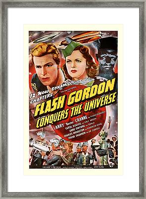 Flash Gordon Conquers The Universe 1940 Framed Print