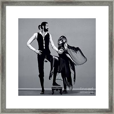 Fleetwood Mac Framed Print by Meijering Manupix